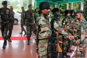 Vice Chief of Army Staff visits Gajraj Corps of Indian Army