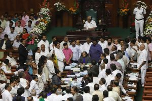 8 out of 13 resignations 'faulty', says Karnataka Speaker, gives rebel MLAs time to meet him