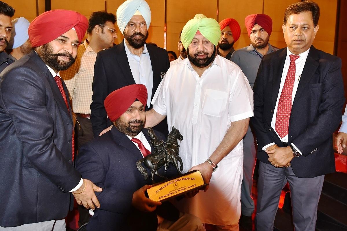 Amarinder Singh, Bharat Ratna, Balbir Singh senior, Chandigarh, Punjab