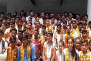 UP BJP MLA enrols school students as party members, video goes viral