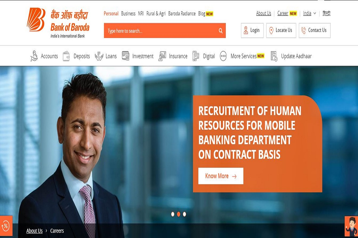 BOB recruitment 2019: Applications invited for SO posts, apply till August 2 at bankofbaroda.in