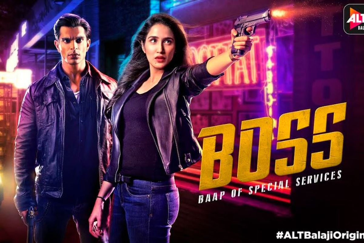 Sagarika Ghatge, Karan Singh Grover, Boss: Baap of Special Services, ALTBalaji, Filmy Paltan, Ankush Bhatt, Ashish Kapoor, trailer
