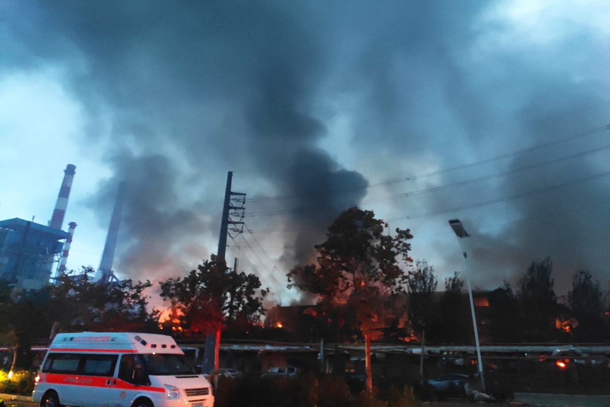 15 dead in gas plant explosion in China, many hurt