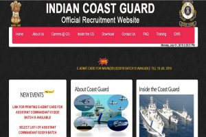 Indian Coast Guard Final Results 2019 declared at joinindiancoastguard.gov.in | Direct link here