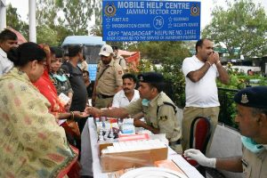 CRPF providing security cover and assistance to Amaranth pilgrims