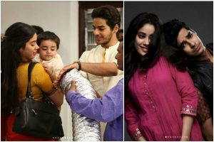Karan Johar, Ishaan Khatter, Janhvi Kapoor celebrate 1 year of Dhadak