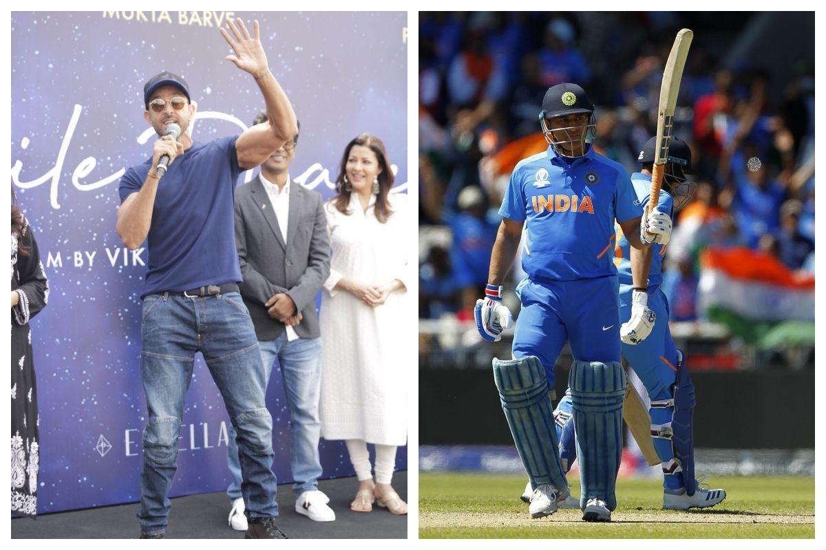 Hrithik Roshan , Mahendra Singh Dhoni, ICC Cricket World Cup 2019, Super 30, Kabhi Khushi Kabhie Gham, Star Sports, Philips Hue Cricket Live