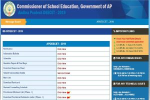 AP DEECET seat allotment list 2019 released at apdeecet.apcfss.in | Direct link available here