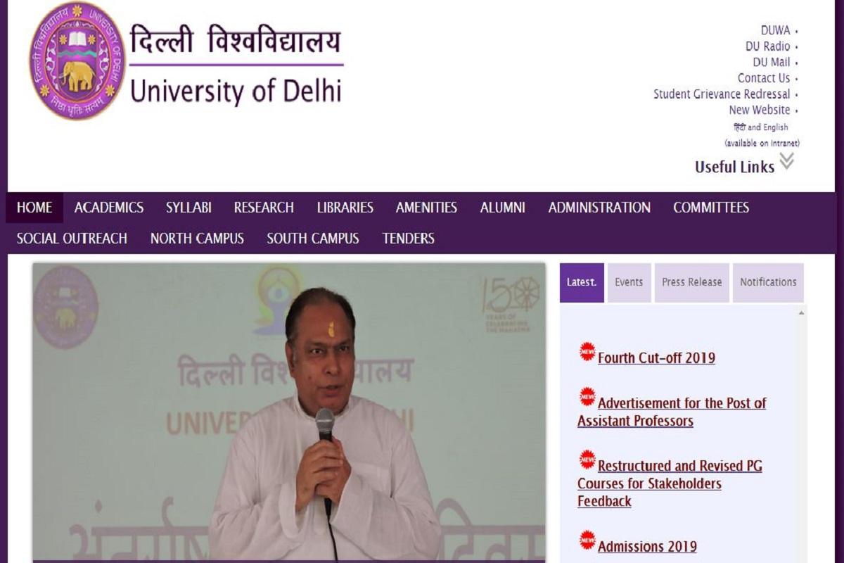 DU UG admissions 2019, Delhi University, DU fourth cut off list 2019, du.ac.in, DU UG admissions