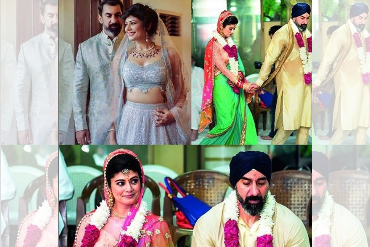 Wedding pictures out: Nawab Shah and Pooja Batra tie the knot in Manesar