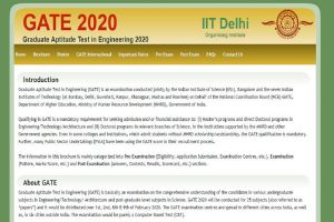 GATE 2020: Important dates released at gate.iitd.ac.in, registration process to start from September 3