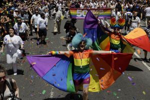 Hundreds of thousands march across Europe for Gay Pride