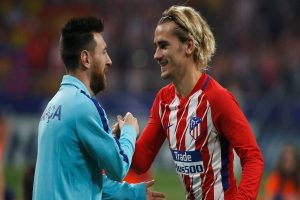 That Messi would say that about me made me feel very proud: Antoine Griezmann