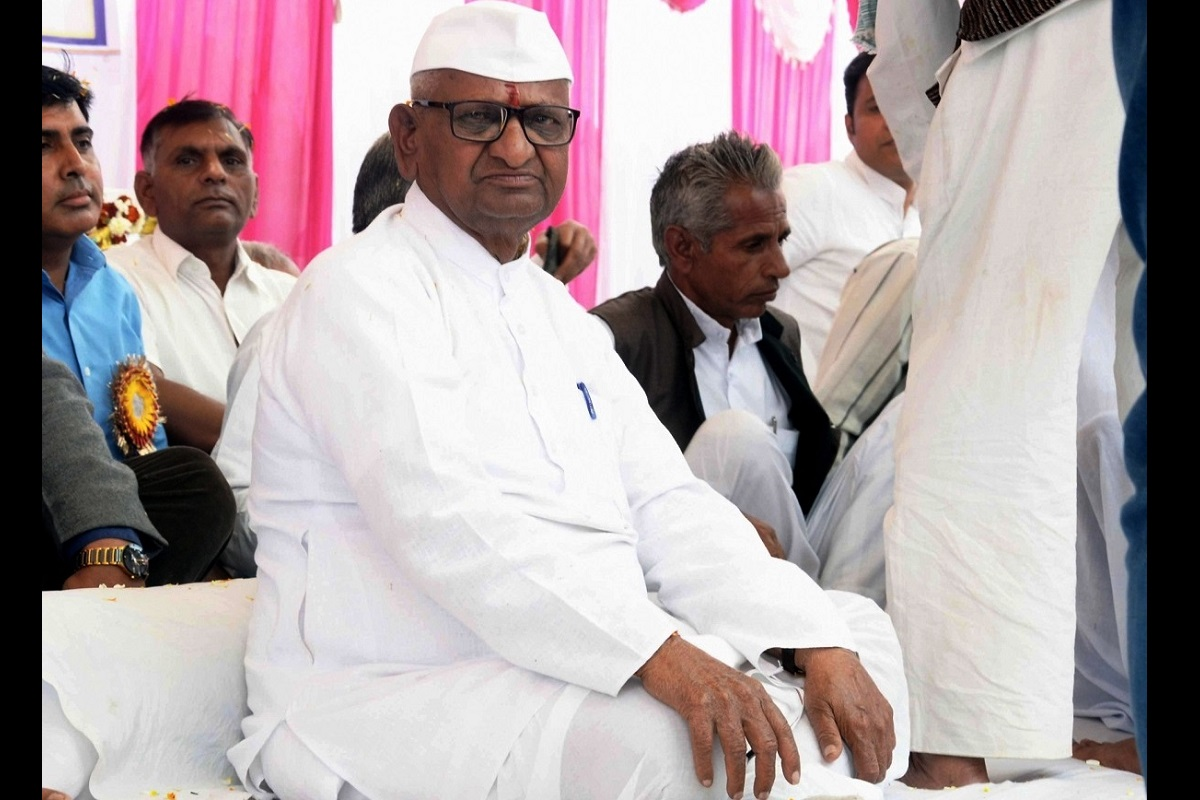 Anna Hazare, CBI, Lokpal, Mumbai, Terna Sugar Factory, Osmanabad, Congress, Sharad Pawar, Nationalist Congress Party, NCP