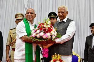 Karnataka CM BS Yediyurappa wins floor test by voice vote; Speaker resigns