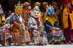 Cham dances of Hemis: Of the skeleton, the deer and the black hat