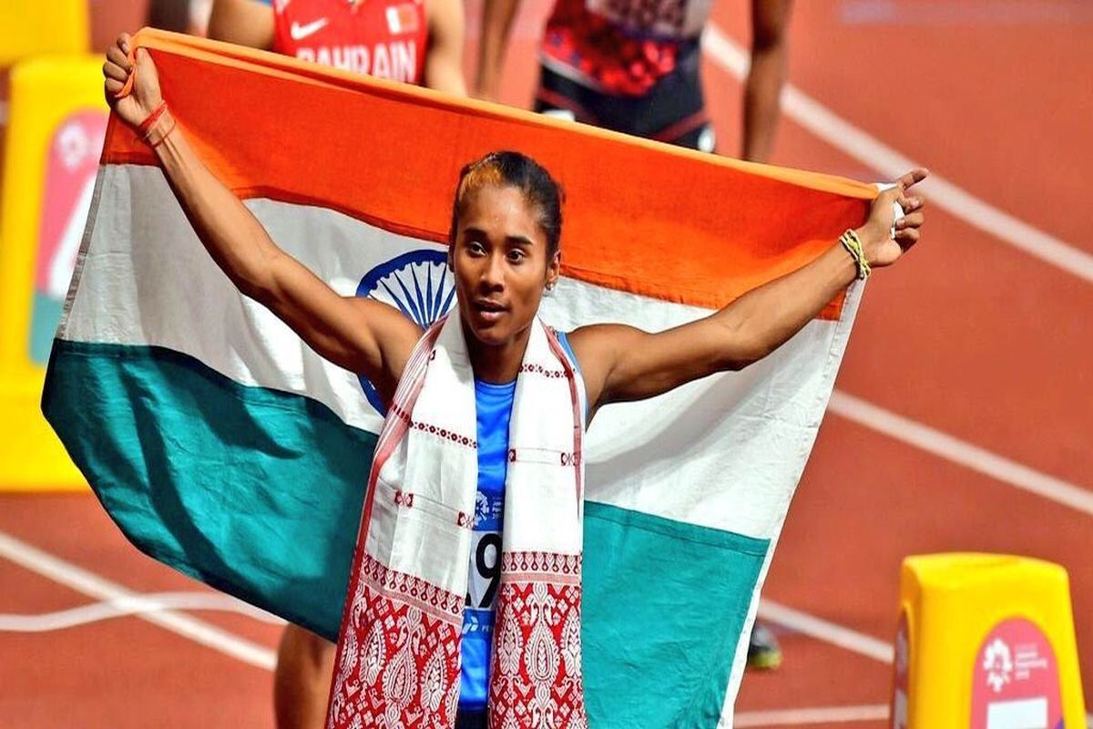 Hima Das ruled out of 2019 World Athletics Championships due to back injury