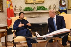 'Kashmir can't be resolved bilaterally' says Imran Khan after meeting with Donald Trump
