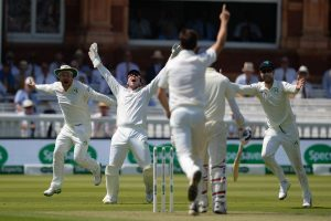 Ireland dismiss World Champion England for 85 runs in one off Lord's Test