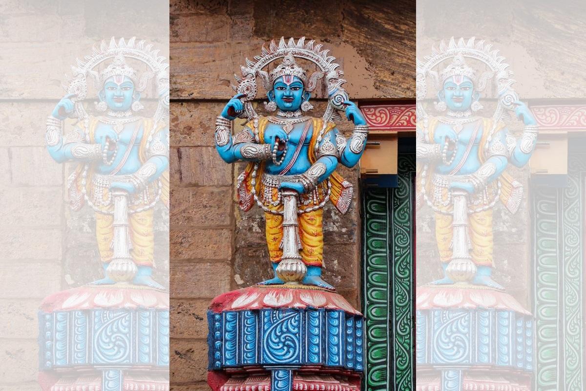 Ravana, Vishnu, Bhakta, Ramacharitamanasa, Kumbhakarna,rakshasas, Shivatandava Stotra, Sanskrit, Rigveda Bhashya, Annie Besant, Bhagavata Purana, Sanaka, Sita, daityas,Hiranyaksha, Hiranyakashipu, Ananda Ramayana