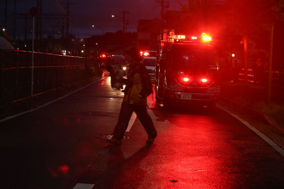 Japan arson attack