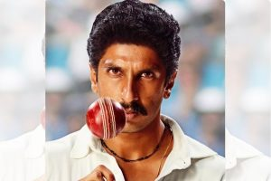 Ranveer Singh shares first look as Kapil Dev on his birthday
