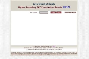 Kerala Plus Two SAY results 2019 declared at keralaresults.nic.in | Direct link to check results here