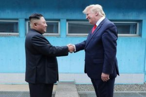 North Korea hails 'historic' Kim-Trump meeting at Panmunjom