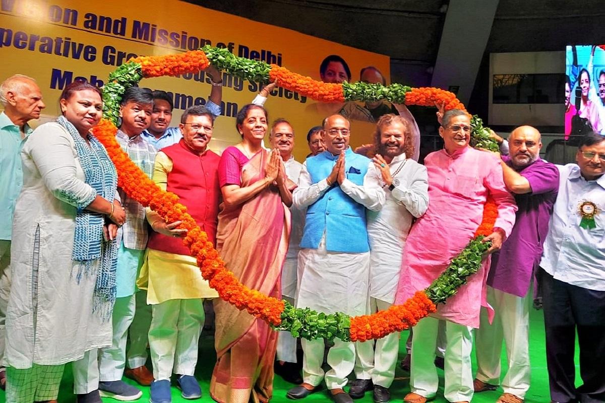 DDA, Vijay Goel, New Delhi, Delhi, Anil Baijal, Delhi Development Authority, Nirmala Sitharaman