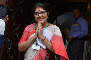 BJP MP Locket Chatterjee's comments on cut money provoke TMC