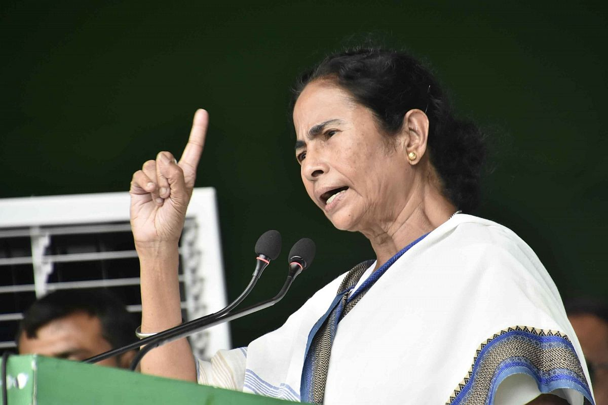 CM Mamata Banerjee slams centre over economy