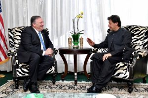 Mike Pompeo meets Imran Khan, discusses Pak's role in Afghan peace process, counter-terrorism