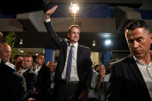 Kyriakos Mitsotakis becomes Greece's new PM on vow to end economic crisis