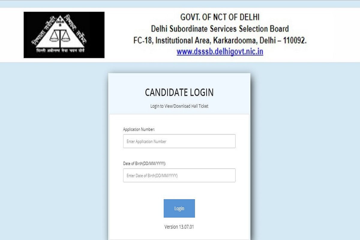 DASS Grade II admit cards 2019, DASS admit cards, dsssbonline.nic.in, Delhi Subordinate Services Selection Board, DASS Grade II admit cards