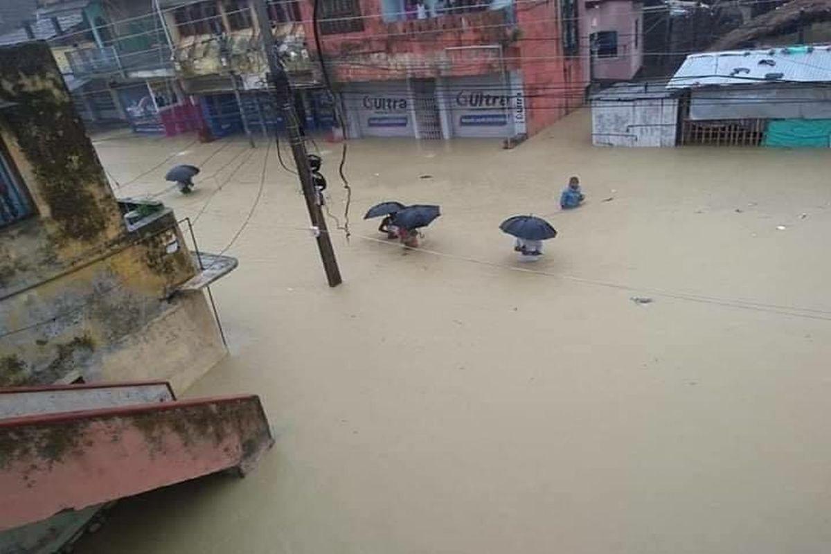 Nepal, flood, landslide