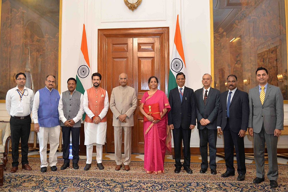 Nirmala Sitharaman, Union Budget