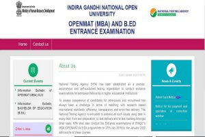 IGNOU OPENMAT/ B. Ed entrance test admit cards 2019 released at ntaignou.nic.in | Direct link here