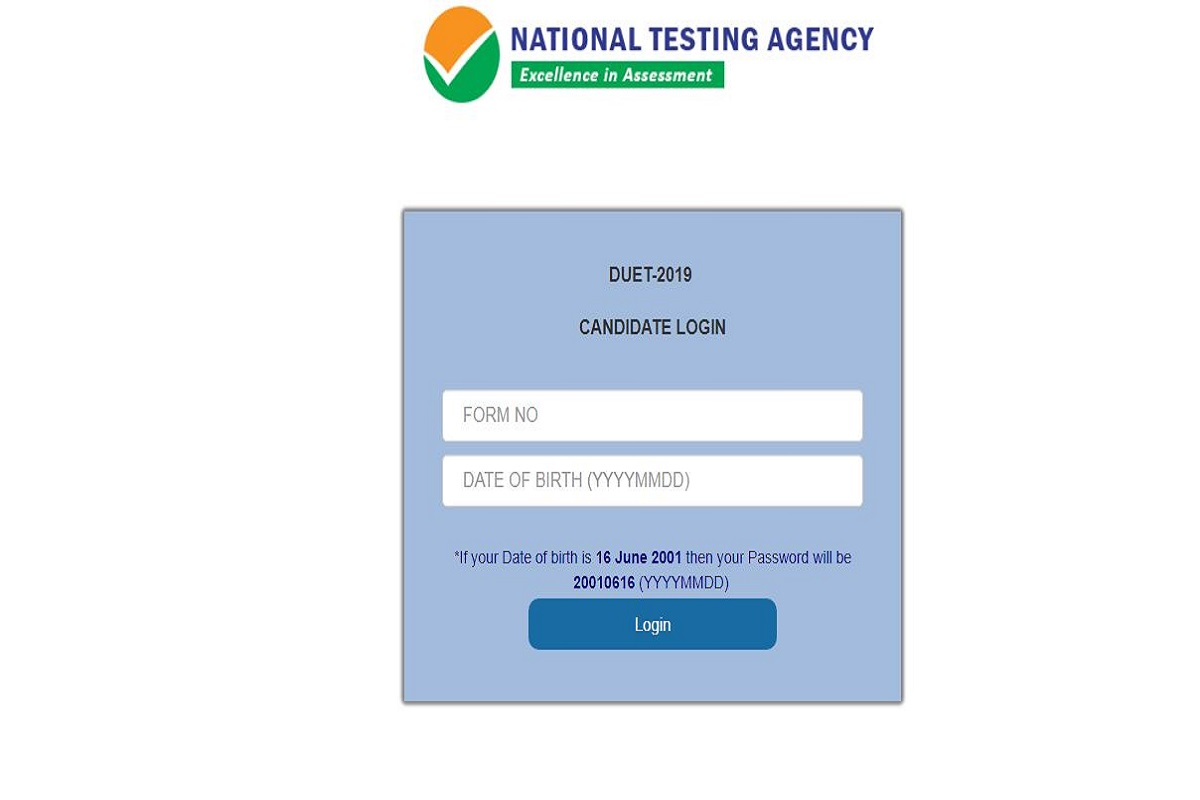 DUET results 2019, National Testing Agency, du.ac.in, Delhi University Entrance Test 2019, Delhi University Entrance Test results, DUET results