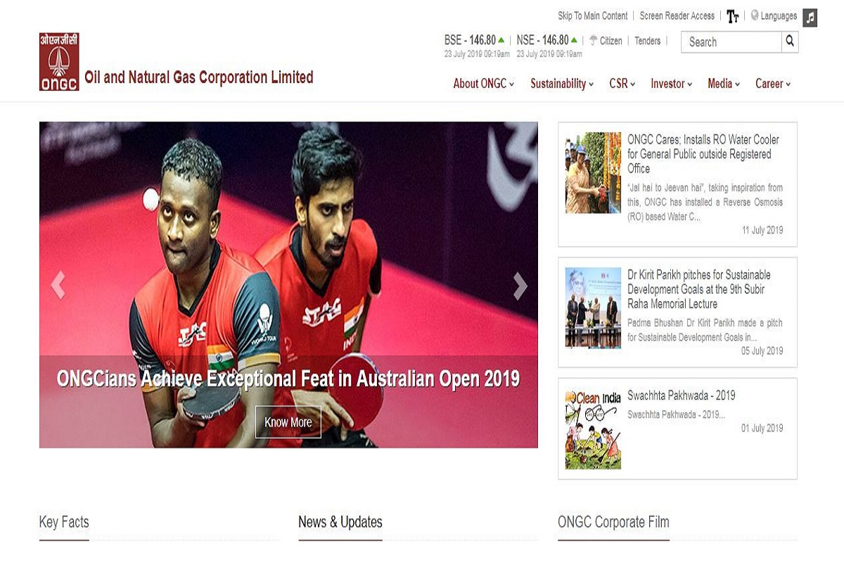 ONGC recruitment 2019, ONGC recruitment, Oil and Natural Gas Corporation Limited, ongcindia.com,