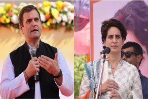 Audacity to run 'fear-free' UP? Rahul, Priyanka slam Yogi govt over Unnao rape survivor
