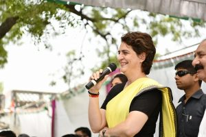 Priyanka Gandhi wishes Team India good luck for World Cup semifinal