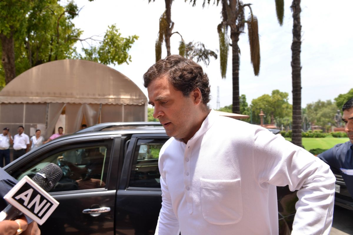 Rahul Gandhi, Sushil Modi
