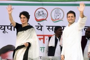 'Few have the courage': Priyanka on Rahul Gandhi's decison to quit as Congress chief