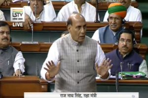 'No question of mediation in Kashmir issue': Rajnath Singh rebuts Trump claims