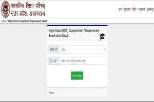 UP Board class 10 improvement results 2019 declared at upmsp.edu.in | Direct link available here