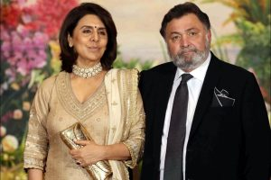 Neetu Kapoor remembers Rishi Kapoor on wedding anniversary