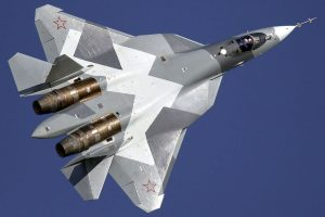 Russia launches production of Su-57 stealth fighter jet