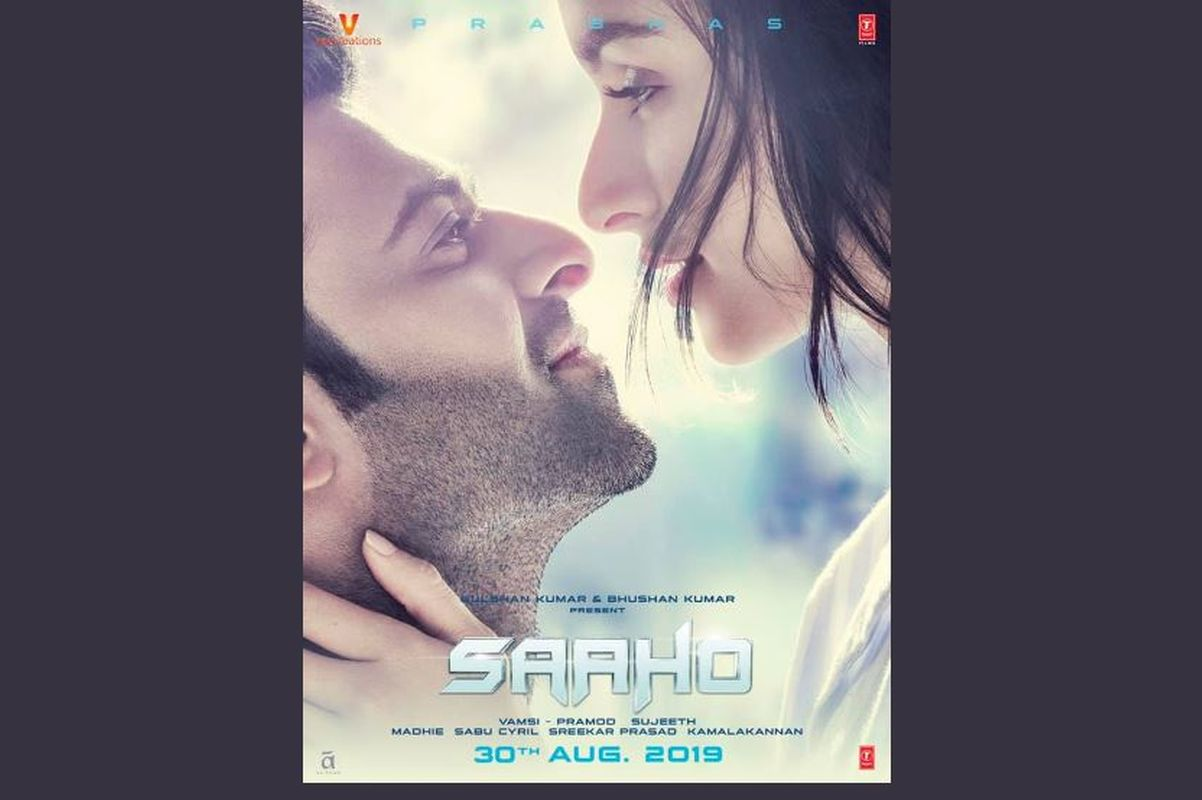 Prabhas and Shraddha Kapoor look romantic in new Saaho poster