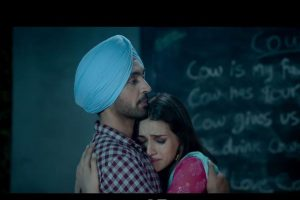 Diljit Dosanjh finally sings a song in Arjun Patiala