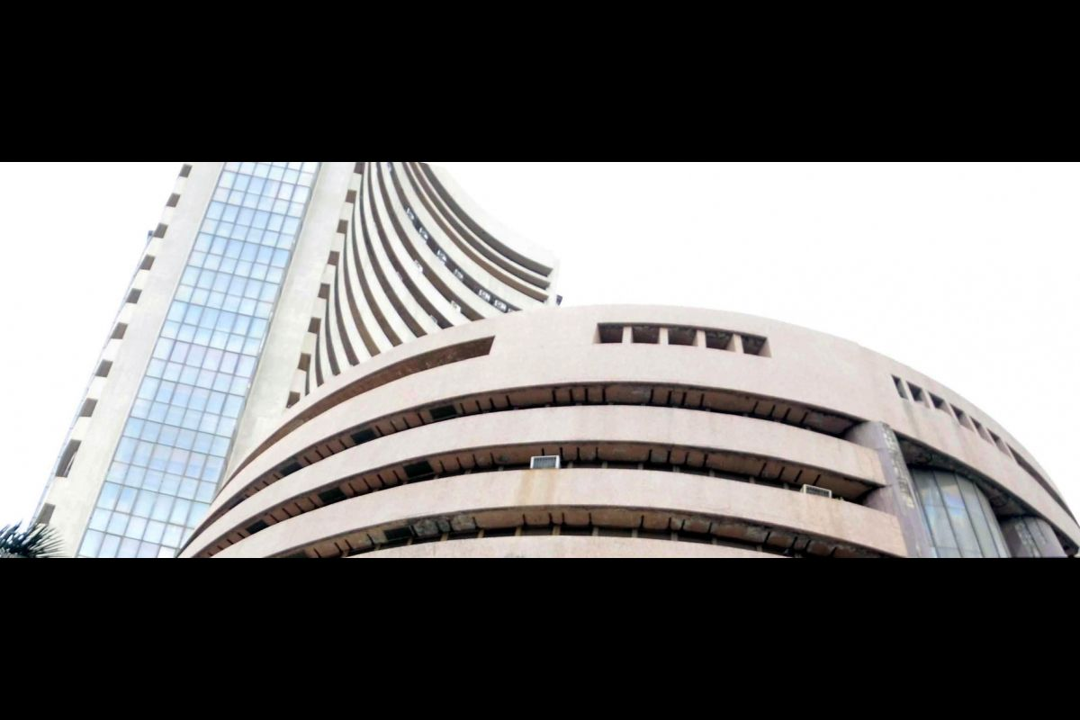 Equity indices open in red; Sensex down 185 points